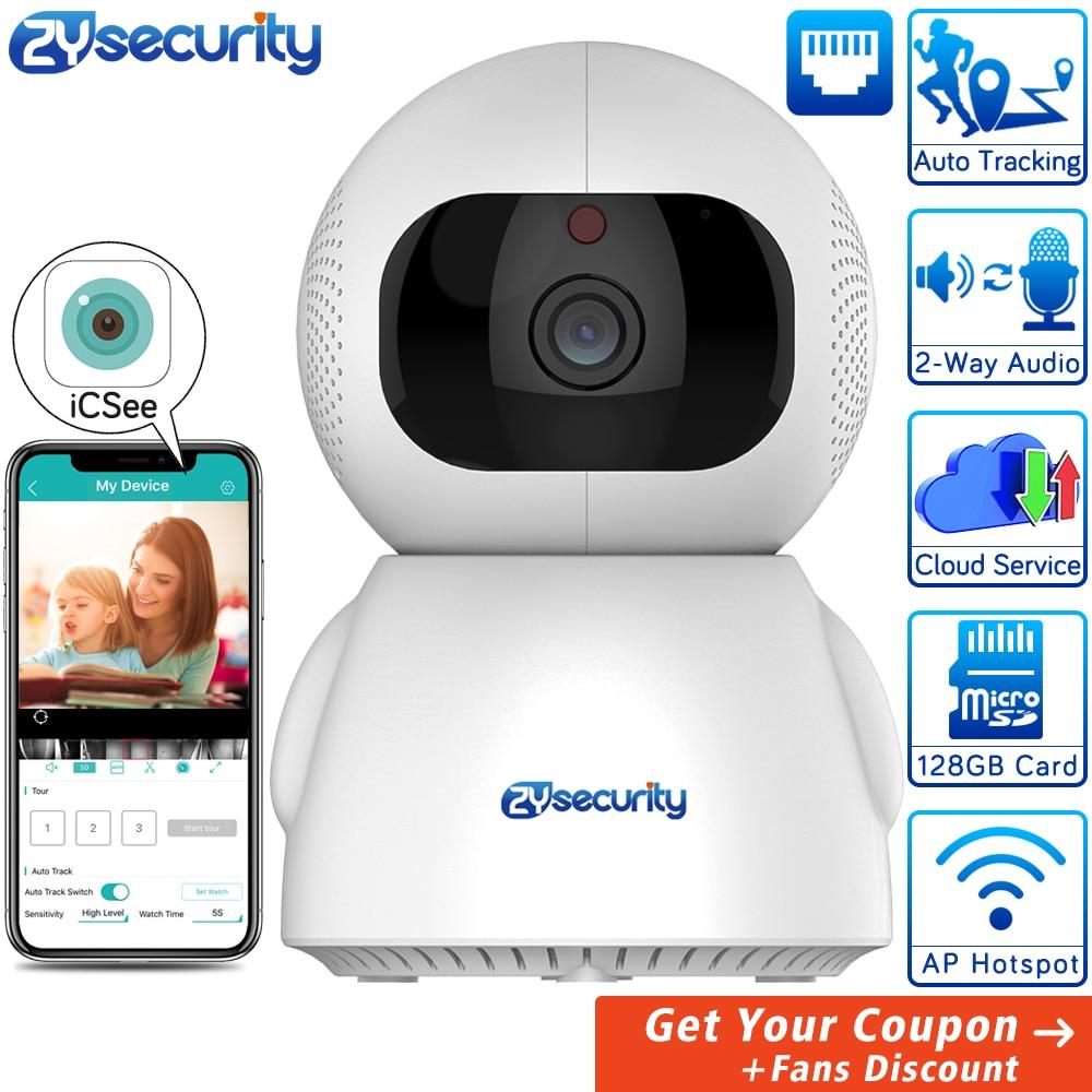 1080p WiFi Camera Smart Wireless Home Security Camera Auto Tracking CCTV Camera Surveillance IP Camera PTZ ICSee