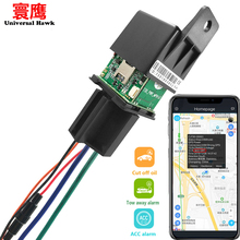 9-95V Motorcycle Car Relay GPS Tracker hide Tracking Device Cut Off Oil Towed away ACC status Alarm Locator Tracking System free