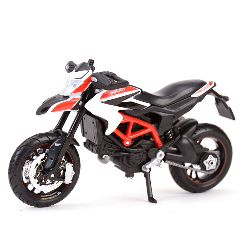 Maisto 1:18 Hypermotard Sp 2013 Diecast Alloy Motorcycle Model Toy