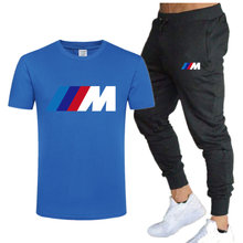 2021 summer fashion casual brand men's suit sportswear sportswear sportswear men's sports shirt short-sleeved T-shirt 2-piece se