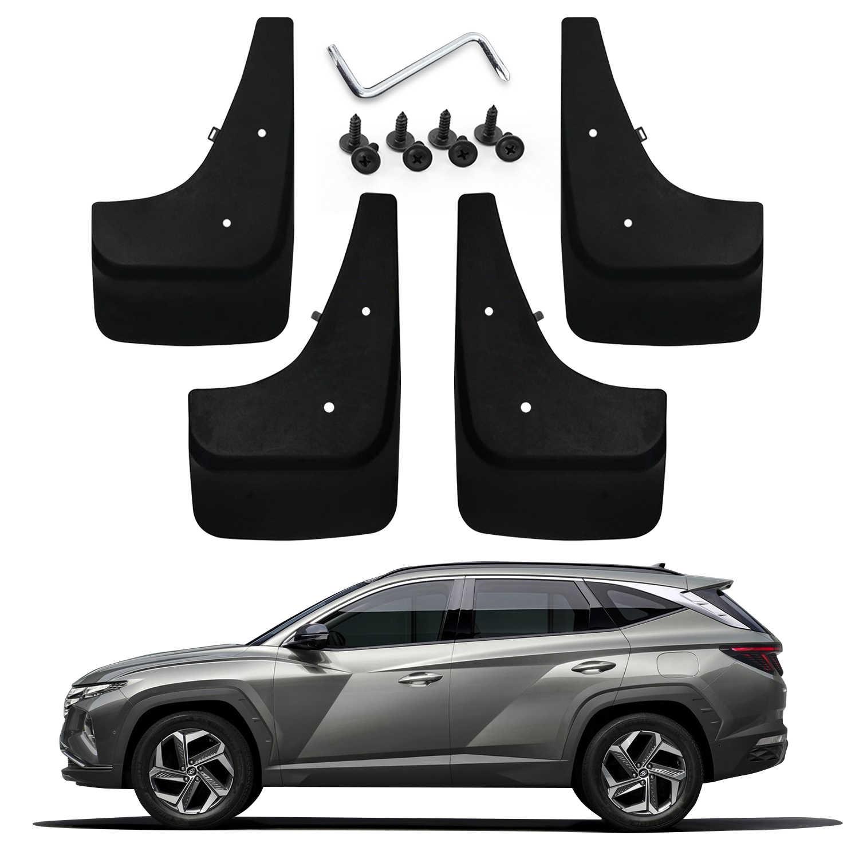 LFOTPP Автомобильные Брызговики крылья для Tucson NX4 otali.ru колеса передние и задние брызговики защитные Брызговики перегородки внешние части черный