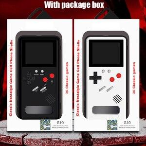 Image 1 - S20 Ultra S10 Hinweis 10 Plus Gameboy Retro 3D Fall Mit 36 Kleine Spiel Für Samsung Galaxy S20 S10 Hinweis 10 + S20 Pro Phone Coque