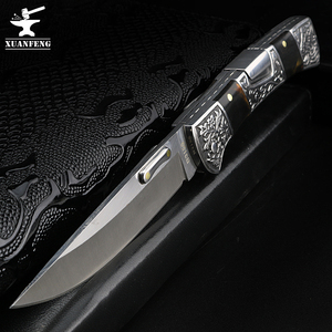 Image 1 - XUAN FENG field folding knife high hardness sharp tactical knife camping hunting short knife self defense tactical knife