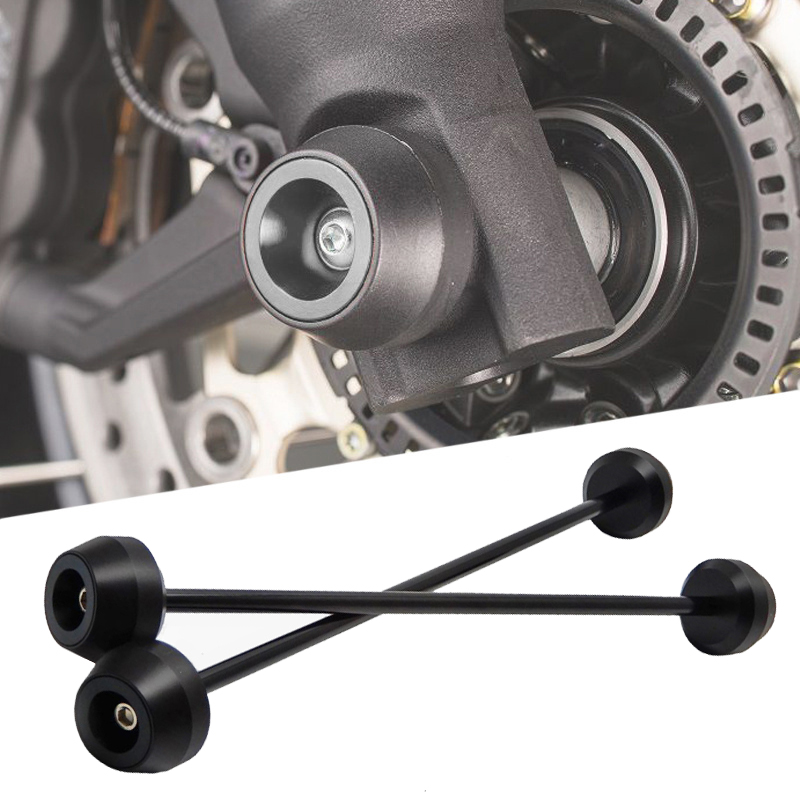 MTKRACING For S1000R S1000RR <font><b>S1000XR</b></font> S 1000 S1000 R RR XR Front and Rear Axle sliders Fork wheel protection Crash <font><b>pad</b></font> kit image