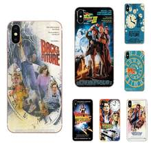 Soft Phone Cases Back To The Future Poster For Huawei Honor 4C 5A 5C 5X 6 6A 6X 7 7A 7C 7X 8 8C 8S 9 10 10i 20 20i Lite Pro(China)