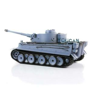 Image 5 - Henglong 1/16 6.0 Plastic Tiger I RC Tank 3818 360 Turret Barrel Recoil FPV TH16095