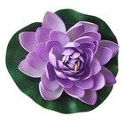 Purple Floating Lotu...