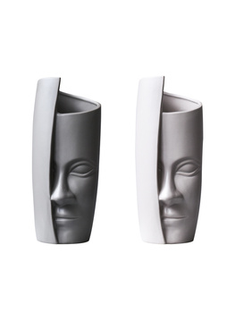 Nordic creative design human face Art Vase Decoration household abstract decor flower art suit wine cabinet vases for flowers