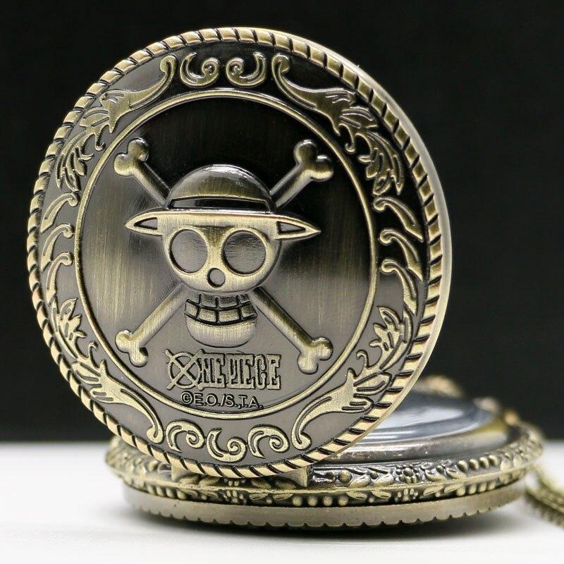 Купить с кэшбэком Retro Bronze Men Fashion Pocket Watch National Austria The Double Eagle Chain Necklace Quartz Full Hunter Emblem Clock Male