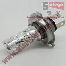 Safego 1 шт Высокое качество h4 50 Вт светодиодный ные Противотуманные