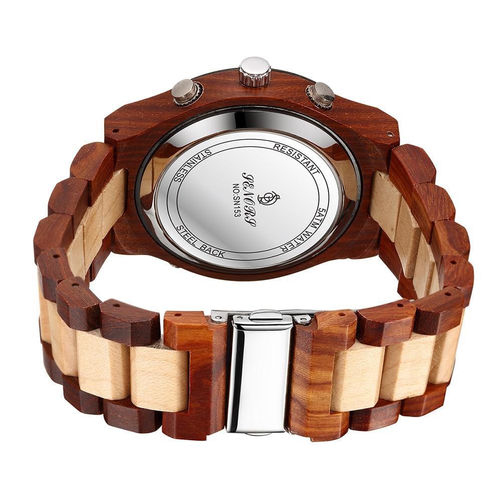שעון עץ איכותי SENORS 5
