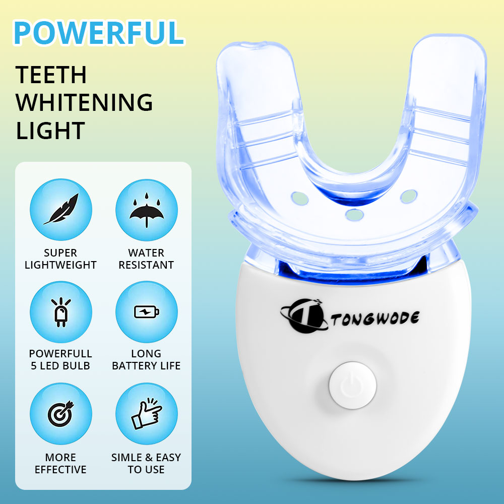 High Effect Teeth Whitening Kit With LED Light Oral Care Portable Tooth Tartar Removal Teeth Whitening Set Oral Hygiene