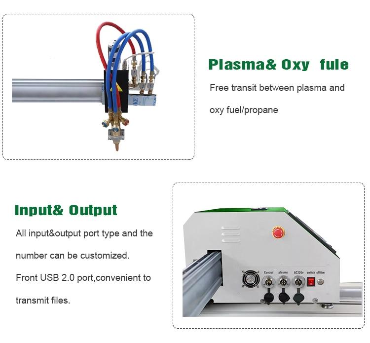 cnc portable plasma cutting machine plasma cutter portable cnc flame plasma cutting machine 8