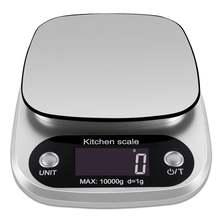 Цифровые кухонные весы 10 кг Многофункциональные для еды электронные