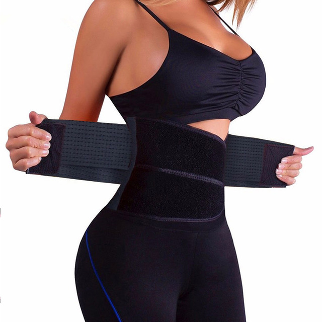 S-3XL Women Waist Trainer Corset Sauna Sweat Sport Girdle Slimming Shaper Belt Abdominal Trimmer Belt Straps Modeling Plus size 1