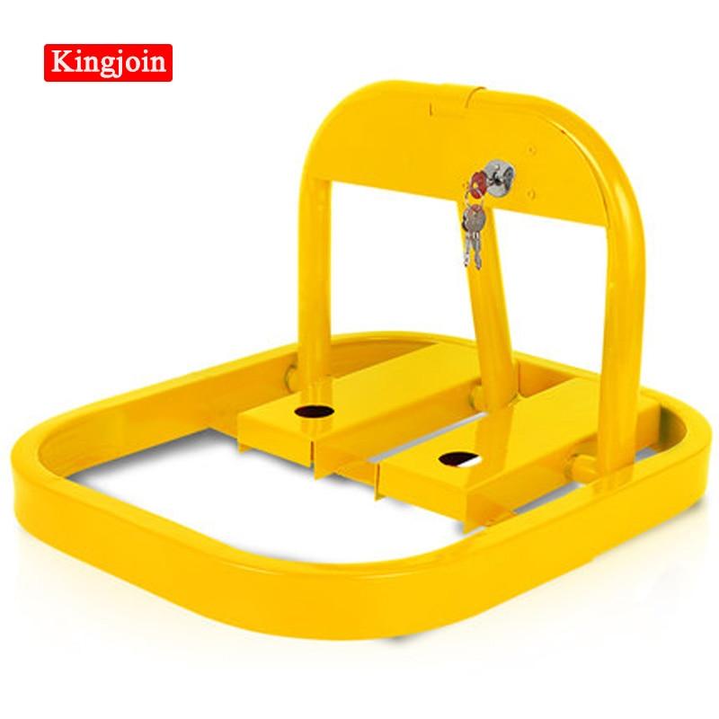 KINGJOIN Octagon Eight-square Type Car Auto Lock Parking Place Stop Ground Lock Car Steering Wheel Lock