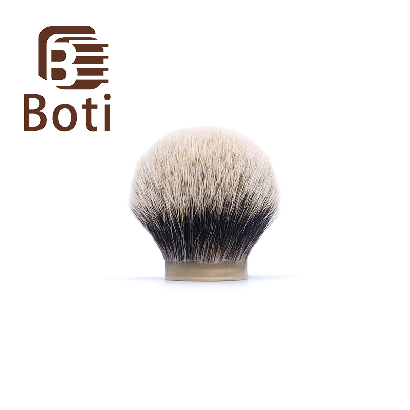 Boti Brush-SHD Giant Finest  Two Band Badger Hair Knot Class A Giant Shaving Brush Knot Men's Beard Tool