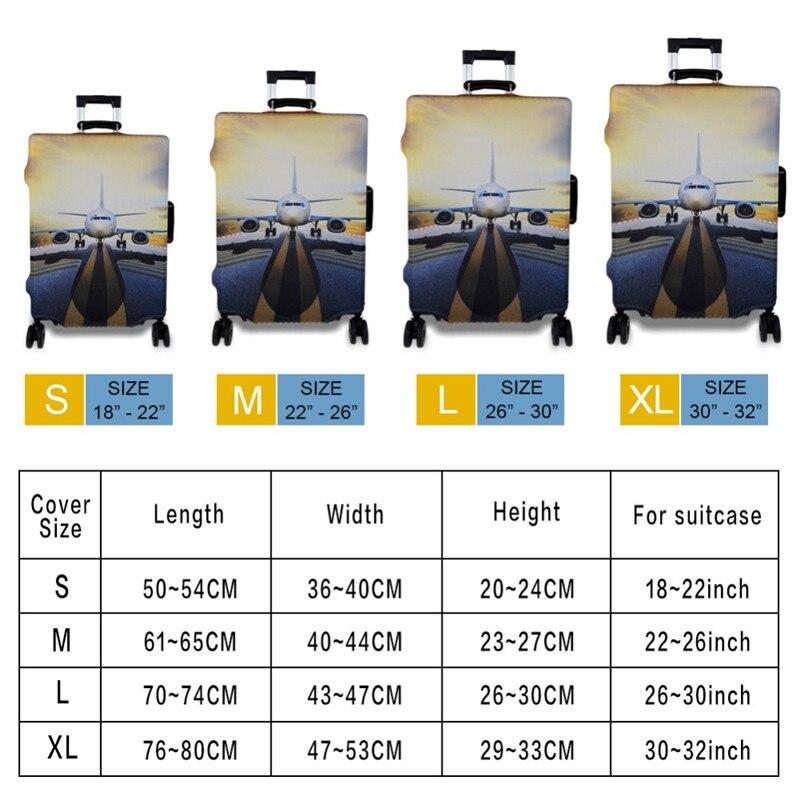 FORUDESIGNS/Дорожный эластичный Чехол для багажа Saiyan Goku Vegeta, защитный чехол для чемодана 18-32 дюймов