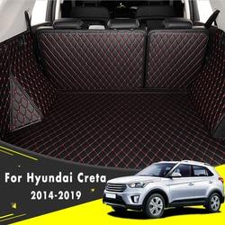 Stylowy dywan do samochodu dywaniki statki Cargo Custom made mata bagażnika samochodowego dla Hyundai Creta ix25 2014 2015 2016 2017 2018 2019 na