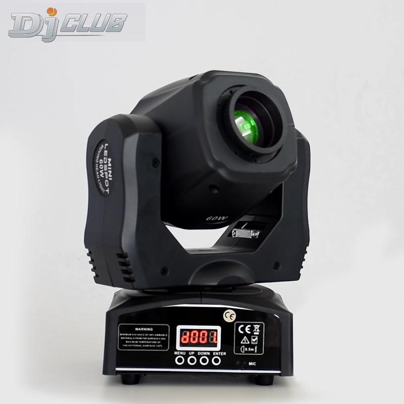 60W Mini LED DMX gobo Spot Club DJ Stage Lighting Party Disco Moving heads Light