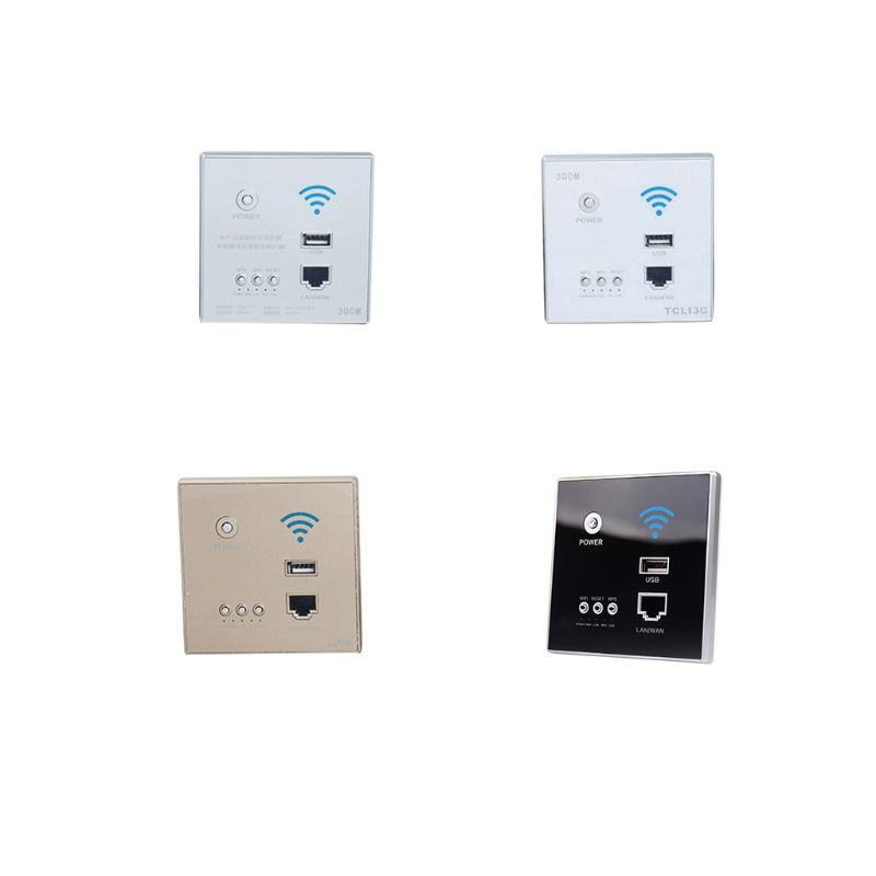 Image 2 - 300Mbps 220V Smart Wireless WIFI Repeater Extender Wall Embedded Router Socket X6HAWireless Routers   -