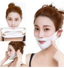 V Shape Lifting Facial Mask Face Slim Chin Check Neck Lift Peel-off Mask V Shaper Facial Slimming Bandage Mask Skin Care peel off facial mask