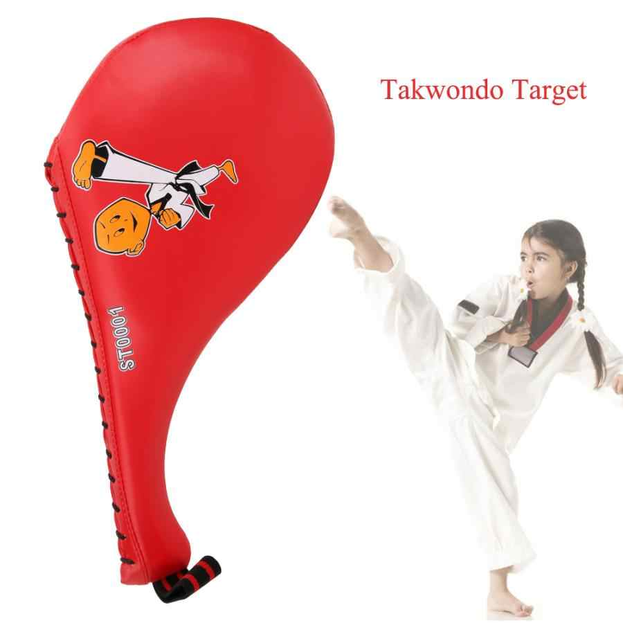 Taekwondo Double Kick Pad Target Foot Target Fitness Training Boxing Children US