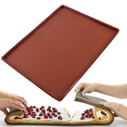 Nieprzywierająca mata do pieczenia wielokrotnego użytku nieprzywierająca blacha odporna na ciepło łatwe do czyszczenia Grill i maty do pieczenia Macarons