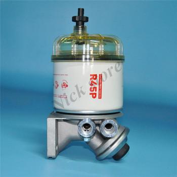 Separator wody paliwa R45P R45T filtr oleju napędowego do generatorów filtr paliwa tanie i dobre opinie OMEIDKE CN (pochodzenie) standard PAPER REPLACEMENT FILTER Fuel Supply