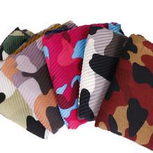 Yfashion Women Fashion Camouflage All-matching Cotton Scarf