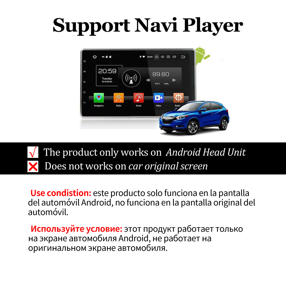 navigasyon CarPlay akıllı Android