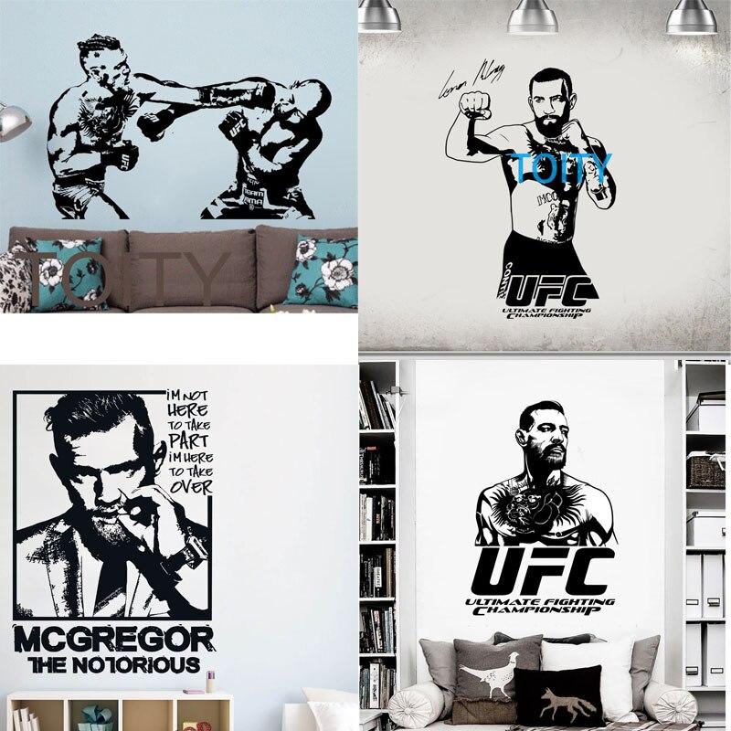 Conor mcgregor wall vinyl sticker mma fighter