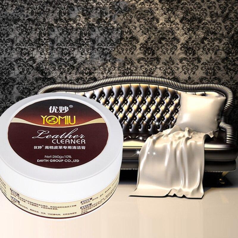 260g Multi Functional Leather Refurbishing Cleaner Cream Fast Decontamination Window Tool Eco Friendly Get 1 Sponge Free TSLM2