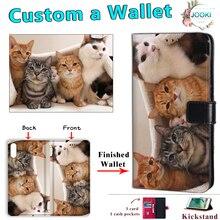 Personnalisé nouveau portefeuille à rabat en cuir Folio housse de téléphone pour samsung Galaxy S7 Edge S8 S9 S10 S11 Plus S10E S11E couverture Photo