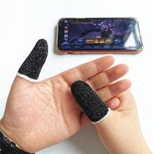 10 szt. Kontroler do gier na telefon komórkowy rękaw z palcem antypoślizgowym w pełni dotykowy ekran wrażliwy na palce