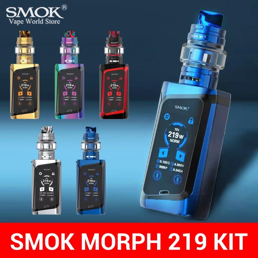 SMOK Electronic Cigarette MORPH 219 Kit 219W Box Mod Vape Kit E Hookah Vaporizer TF POD TANK Coilelektronik Sigara Nord S019