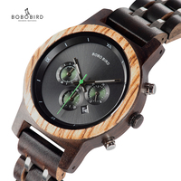BOBO BIRD Women Watches relogio feminino Wooden Ladies Quartz Stopwatch Wristwatch Gift for Girl Friend in box saat erkek clock