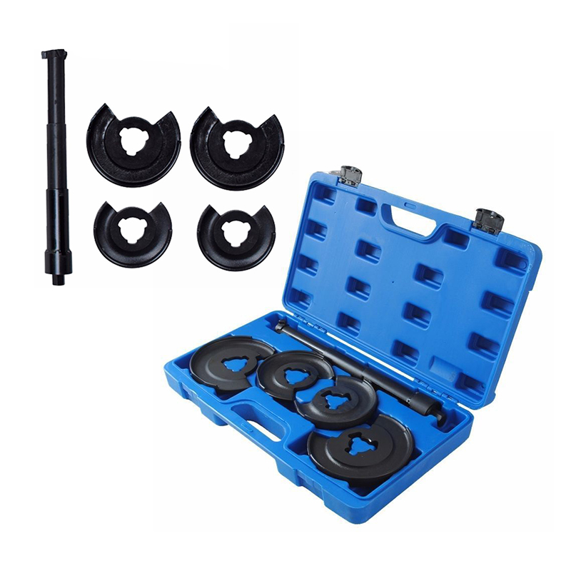5pcs Car Accessories Coil Spring Telescopic Compressor Shock Absorber Repair Tool Kit For Mercedes-Benz Volkswagen Nissan HWC