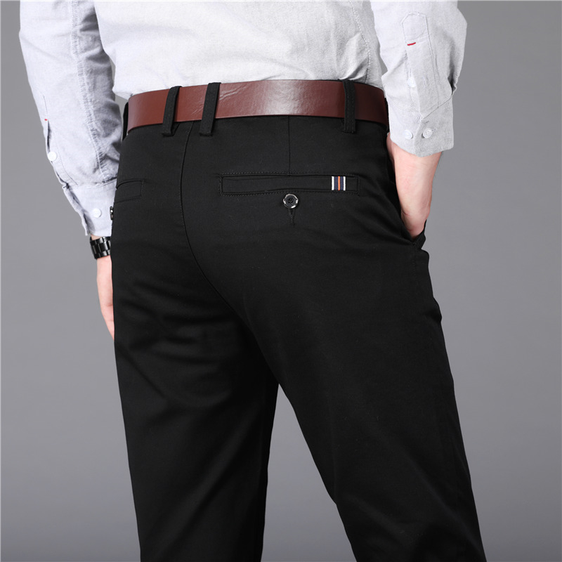 Wedding Dress 2019 Brand New Suit Pants Male Good Quality Mens Dress Pants Straight Office Male Trousers Plus Size 40 42 44 46