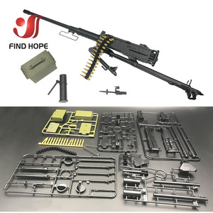 Image 3 - 1:6 Scale Browning M2 MACHINE GUN Model Military US Army Assembly Toy for Action Figure Accesssories