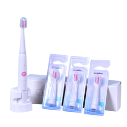 XMX-Dy18 elektryczna szczoteczka do zębów Sonic dorosłych ładowanie indukcyjne uchwyt na szczoteczki do zębów z 4 szczotka wymienna głowa ciała wodoodporna Inte