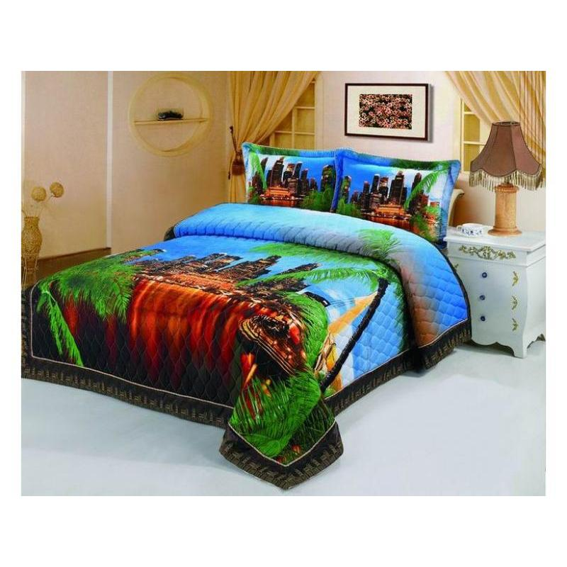 Bedspread euro Tango, 180/5 2001-41, 220*240 cm, with наволочками bedspread euro tango steamed cotton 3d 2224 03 220 240 cm