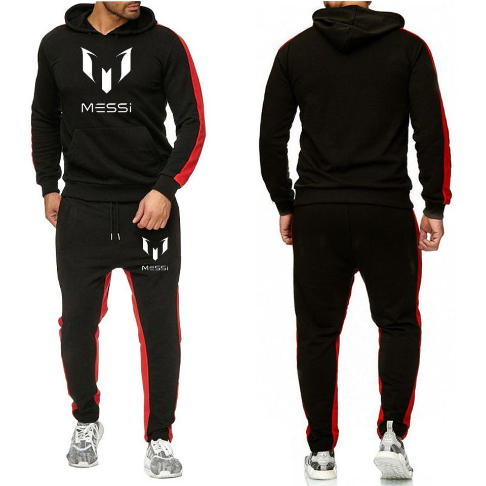 2019 New Style Men Sports Leisure Suit Spring And Autumn Fitness Running Training Suit Leisure Sports Suit