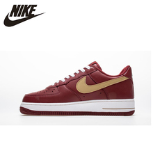 цена Nike Air Force 1 '07Men Skateboarding Shoes Original Hard-Wearing Outdoor Sports Sneakers New Arrival# 306353-671 онлайн в 2017 году