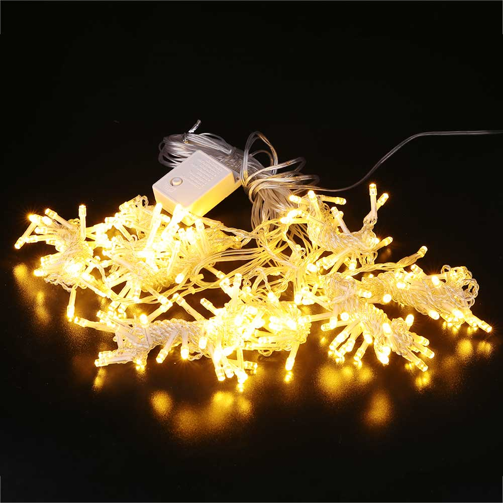 Xmas 6Mx3.0M LED Curtain Light Multi Color Light Wedding Waterproof Strip|Lighting Strings| |  - title=