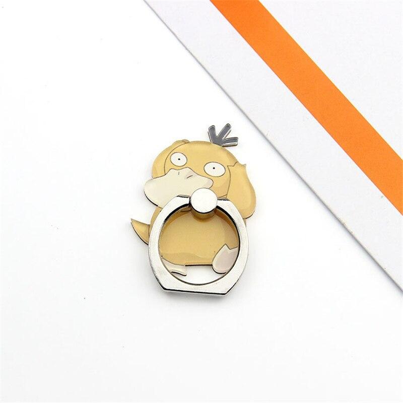 Pokemon Go Pocket Monster Pikachu косплей реквизит Poke Ball Cute Charmander Psyduck держатель для мобильного телефона Регулируемая рамка - Цвет: E