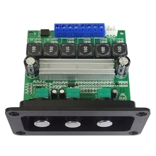 TPA3116D2 Subwoofer Amplifier Audio Board 2X50W+100W 2.1 Channel Digital Sound Amplifier Home Theater DIY,with Panel