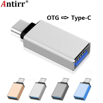 Type C Adapter Type-C to USB 3.0 OTG Cable Adapter USB C Converter for One plus 6 5 Xiaomi mi 8 Huawei USB C OTG Adapter image