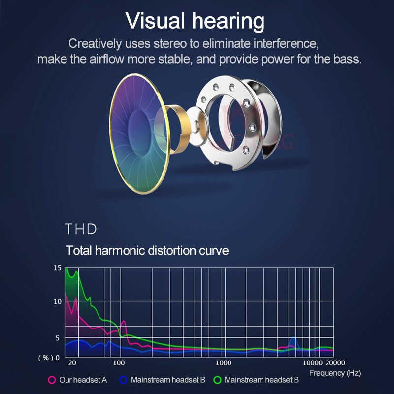MEUYAG سماعات أذن سلكية 3.5 مللي متر جاك في الأذن الرياضة تشغيل سماعة سوبر باس سماعات الألعاب مع هيئة التصنيع العسكري fone de ouvido