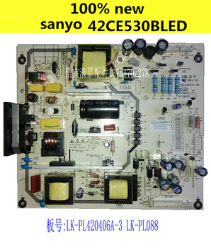 100% NEW FOR sanyo 42CE530BLED power supply board LK-PL420406A-3 LK-PL088 New replacement board, not original